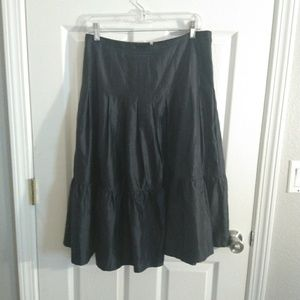 Banana Republic grey skirt size 6